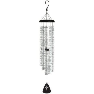 EXTRA-LARGE CARSON WINDCHIME- OLD RUGGED CROSS 60326