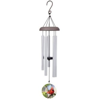 MEDIUM WINDCHIME-CARDINAL