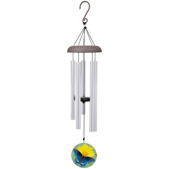 MEDIUM WINDCHIME-BUTTERFLY PENDANT