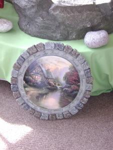 Thomas Kinkade Stepping Stone