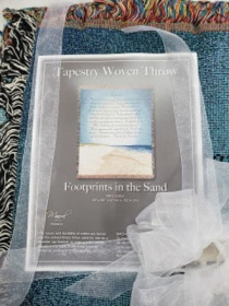Footprints In The Sand Afghan Seymour