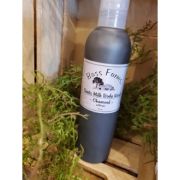 Bass Farms Goats Milk Body Wash Charcoal