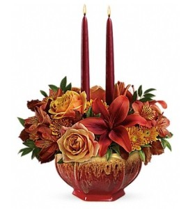 Teleflora\'s Bounty of Beauty Centerpiece