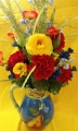 Fruit Pitcher Silk Arrangement