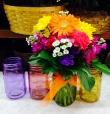 Jar Flower Arrangement