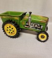 Green Tractor Figurine