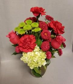 Shockingly Pink Bouquet