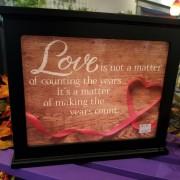 Love Is.. Light Up Decorative Box - large