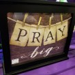 Pray Big Light Up Decorative Box - large