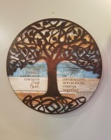Circle of Strength Sign - Family Tree Collection