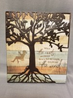 When the Roots are Deep Sign - Family Tree Collection