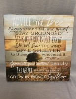 Advice fromt he Tree Sign - Family Tree Collection