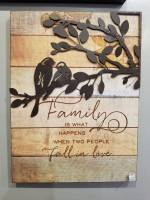 When Two People Fall in Love Sign - Family Tree Collection