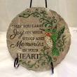 May You Carry Joy on Your Wings Keepsake Plaque on stand