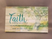 Faith is Being Sure Sign