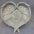 I Believe in Angels Angelwing Plaque