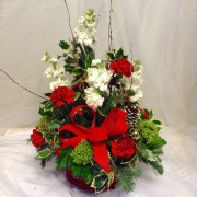 Holly and Jolly Holiday Bouquet