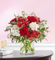 1-800-Flowers Crimson Rose Bouquet