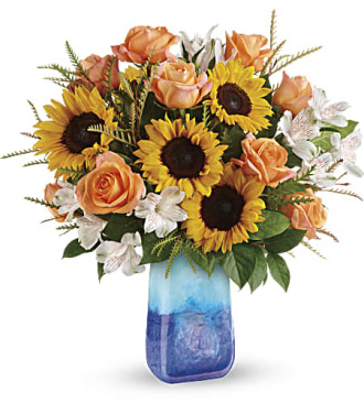 Teleflora's Sunflower Beauty