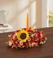 1-800-FLOWERS Fields of Europe for Fall Centerpiece