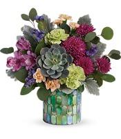 Teleflora's Marvelous Mosaic Bouquet