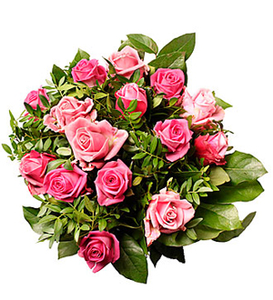 Bouquet of Pink Roses- Pinky
