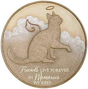 Cat Live Forever Memorial Stepping Stone