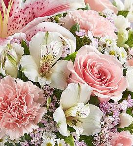 Florist Choice Pink and White Bouquet