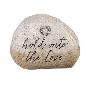 Hold Onto The Love Memorial Stone