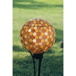 Honeycomb Gazing Ball