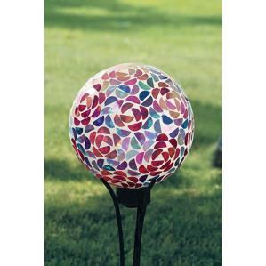 Flower Gazing Ball