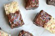 Chocolate Dipped Rice Krispie Bar