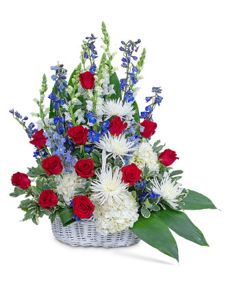 Freedom Tribute Basket