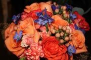 Orange Wedding Bliss