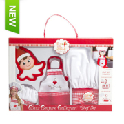 Elf Claus Couture Collection Chef Set