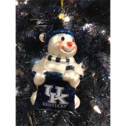 UK Snowman Ornament