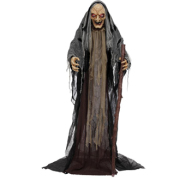 Animated Old Witch 5ft