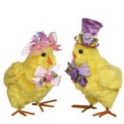 Easter Chicks, set of 2