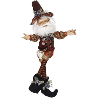 North Pole Thanksgiving Elf Small 13 inch