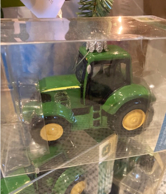 John Deere tractor ornament - Large