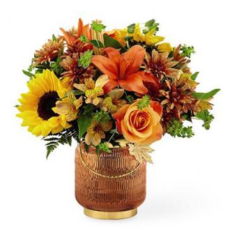 Fall Festive Vase