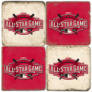 Set of 4 All Star Game Ceramic Coasters