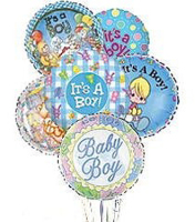 Baby Boy Mylar Balloon Bqt