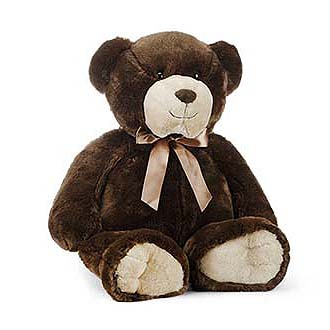 Plush Large Soft Brown Bear