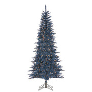 Dark Blue Tuscany Tinsel Tree