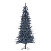 Dark Blue Tuscany Tinsel Tree