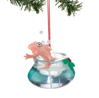 Dr. Seuss Fish in Bowl Ornament