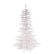 Flocked White Twig Tree