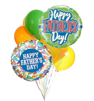 Fathers Day Balloon Bunch