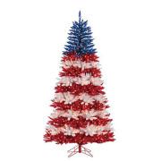 Patriotic American Tree